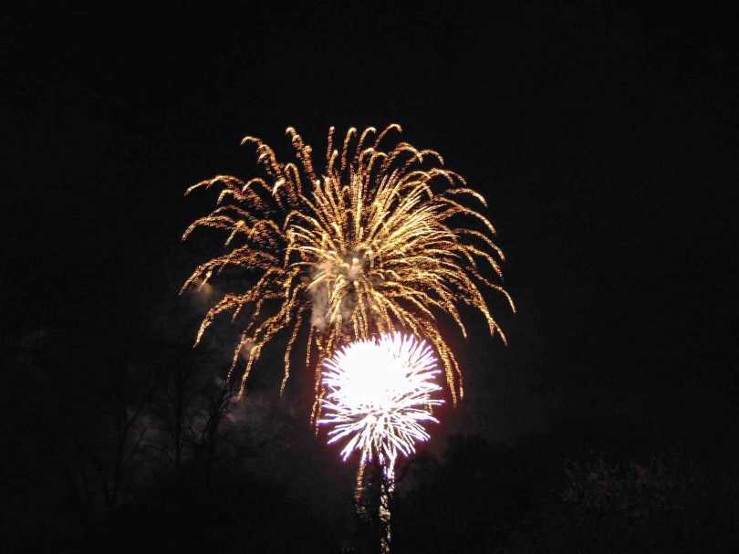 Picture of a firework